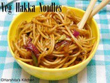 Vegetarian Hakka Noodles | How to make veg hakka noodles