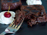 Amazing Foxtail Millet Triple Chocolate Millet Brownies