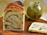 Vegan Pesto Babka #BreadBaker