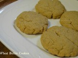 Eggless Butter Cookies | Easy wheat flour cookies