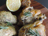 Crockpot Garlic Lemon Pepper Chicken
