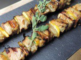Pork Souvlaki – Greek Pork Kabobs