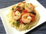 Spicy Shrimp Scampi | Healthy from Scratch
