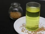 Fenugreek Seeds Water - Best Weight Loss Drink in Winters