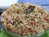 Healthy Sprouts Pulao in Rice Cooker