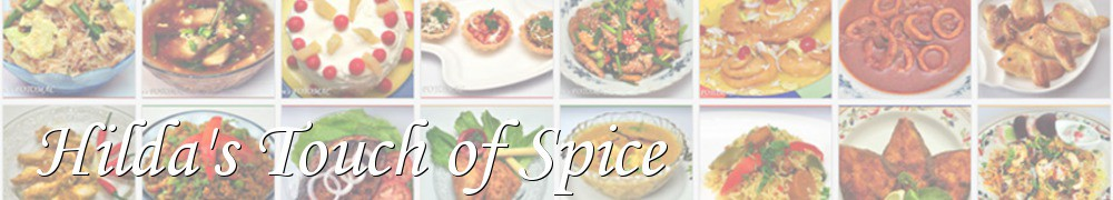 Very Good Recipes - Hilda's Touch of Spice