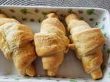 2 Ingredients Puff Pastry Croissants