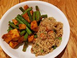Phat Phrik Khing With Soy Chicken and Green Beans (Thai Dry-Curry Stir-Fry) Recipe