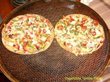 Vegetable Tortilla Pizza
