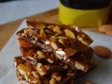 Honey Nut Brittle Recipe | How to make Nut Brittle with Honey | Honey Nut Candy