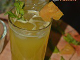 Pineapple Mint Agua Fresca Recipe, How to make Pineapple Agua Fresca