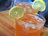 Sparkling Lemon Iced Tea | How to make Sparkling Lemon Tea