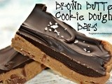Brown Butter Cookie Dough Bars