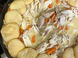 Chicken Pot Pie with Crescent Roll Dippers