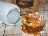 French Toast Muffins With Sugar & Maple Syrup