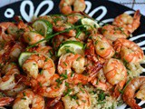 Honey Lime Garlic Shrimp