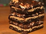 Inside Out Brownie s'mores