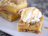 Peach Pie Crumb Bars