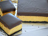 Pumpkin Cheesecake Bars with Ganache