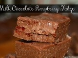 Slow Cooker Milk Chocolate Raspberry Fudge