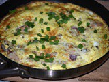 Turkey and Cheese Frittata