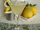Pear, Ginger & Thyme Martini