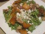 Thanksgiving Sides:  Butternut Squash Salad