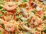 Pancit Canton (Filipino Stir-Fried Noodles)