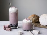 Taro Milk Tea Recipe w/ Tapioca Pearls (Boba)
