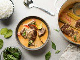 Thai Panang Curry Recipe w/ Tender Beef Short Ribs