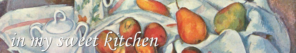 Very Good Recipes - in my sweet kitchen