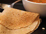 2 minute Atta Dosa Recipe Breakfast Idea
