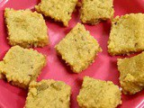 Butter Milk Barfi Recipe