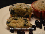 Blueberry Banana Muffins (Blueberry Banana Bread)