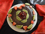 Chocolate Love Cake (Vegan Chocolate Cake with a berry filling)