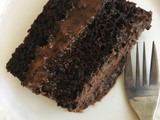 Perfect Chocolate Cake – a 'healthier' version (dairy free, refined sugar free)