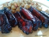 Ribs with soy sauce (Costine con salsa di soia)