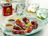 Ljuto-slatka piletina u slaninici / Sweet and Spicy Bacon Wrapped Chicken Tenders
