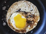 Recipe for Chorizo, Egg, and Cheese Breakfast Taco