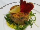Lobster Terrine with Beurre blanc ..... Cooking for the one you love