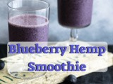Blueberry Hemp Oil Smoothie Recipe | How much do you know about cbd oil