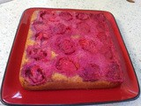Plum & Orange Upside Down Cake