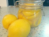 Preserved Lemons - salty and intense