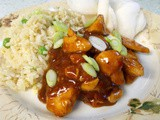 Quick barbecue orange chicken - super speedy