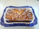 Reduced sugar Lemon & Courgette Loaf - perfect with a cup of tea