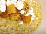 Roasted Butternut Squash & Goat's Cheese Risotto