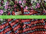 Buying vintage clothes