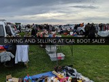 Finance Fridays - Buying and selling at car boot sales