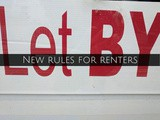 Finance Fridays – New rules for renters