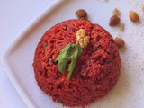 Beetroot rice recipe |beet root rice recipe lunch box